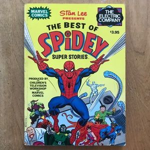 1978 The Best of Spidey Book